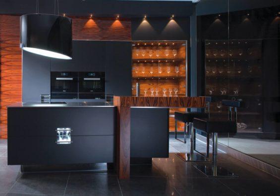 nowoczesne kuchnie rust