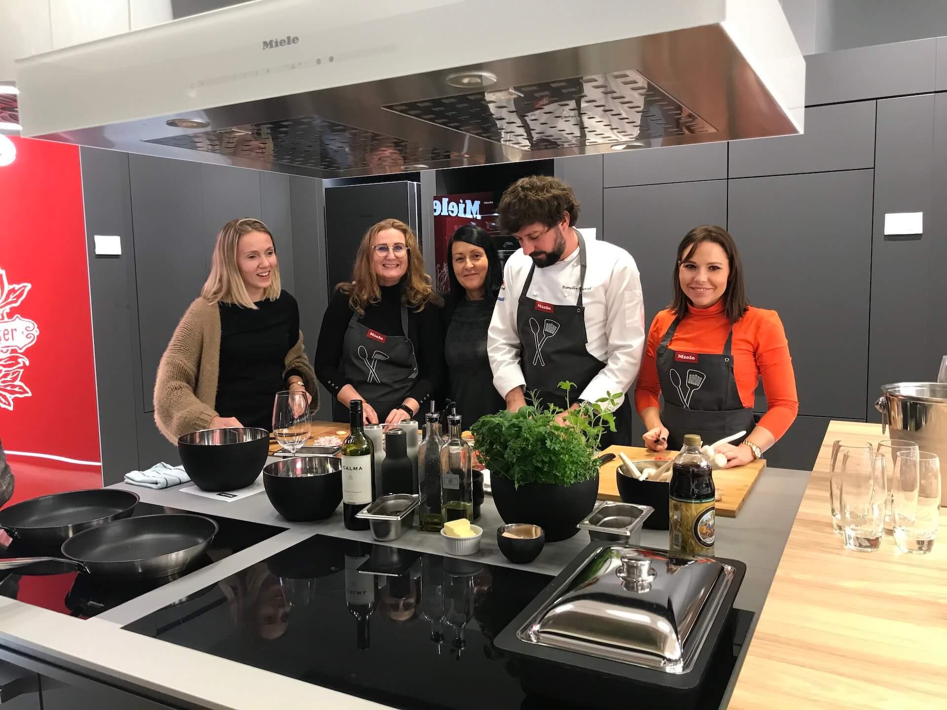 Warszataty kulinarne Miele Kitchen Experience